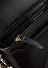 Schwarze MICHAEL KORS Handtasche MD HLF DOME CHN XBDY  - small