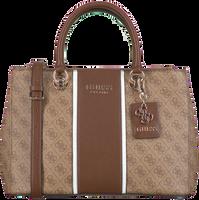 Braune GUESS Handtasche CATHLEEN STATUS CARRYALL  - medium