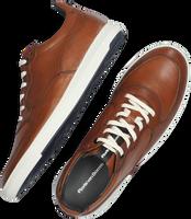 Cognacfarbene FLORIS VAN BOMMEL Sneaker low 16321  - medium