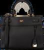 Schwarze MICHAEL KORS Handtasche LG SATCHEL - small