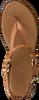 Cognacfarbene NOTRE-V Sandalen 443020  - small