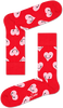 Rote HAPPY SOCKS Socken SMILEY HEART - small