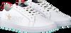 Weiße TOMMY HILFIGER Sneaker TOMMY STAR METALLIC SNEAKER - small