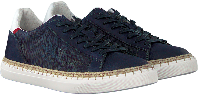 Blaue NEW ZEALAND AUCKLAND Sneaker TAUPO II LIZARD - large