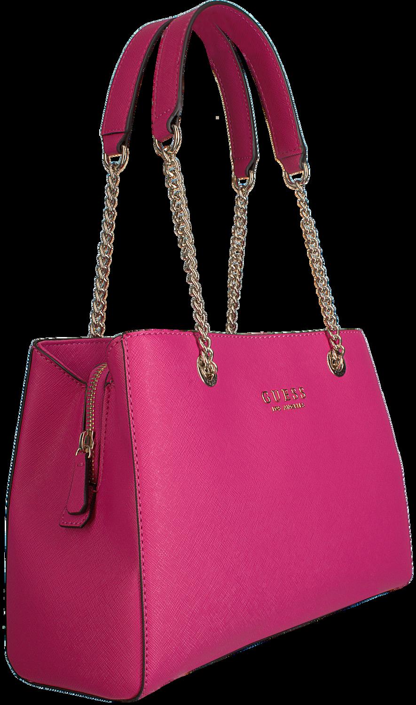 Rote GUESS Handtasche ROBYN GIRLFRIEND SATCHEL