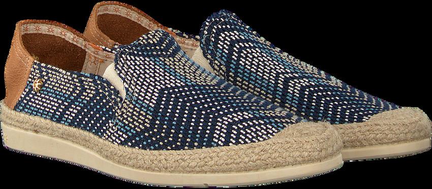 Blaue LA SIESTA Espadrilles 51212  - larger