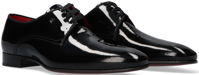 Schwarze GREVE Business Schuhe RIBOLLA 1161  - large