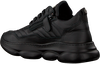 Schwarze RED-RAG Sneaker low 13333  - small