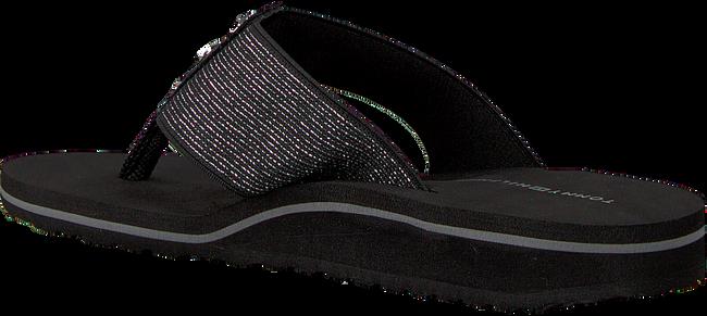 Black TOMMY HILFIGER shoe ELEVATED METALLIC BEACH SANDAL  - large