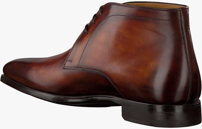 Cognacfarbene MAGNANNI Business Schuhe 20105 - larger