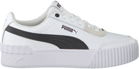 Weiße PUMA Sneaker low CARINA LIFT  - medium