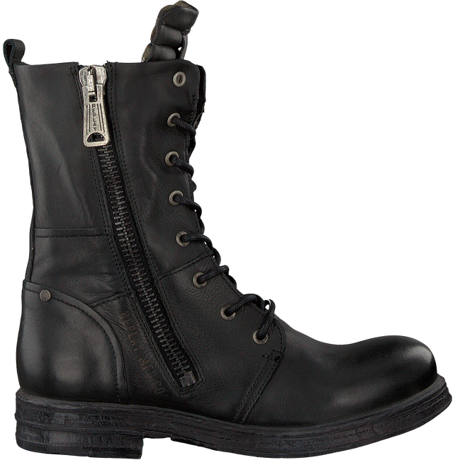 Schwarze REPLAY Biker Boots RL260016L EVY - large