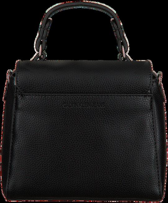 Schwarze CALVIN KLEIN Handtasche MINI TOP HANDLE  - large