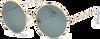 Goldfarbene IKKI Sonnenbrille DUFOUR - small