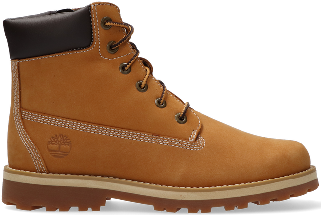 Cognacfarbene TIMBERLAND Schnürboots COURMA KID TRADITIONAL  - large