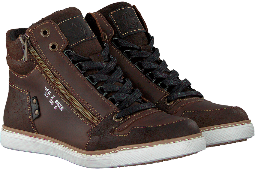 Braune BULLBOXER Sneaker AGM531  - larger