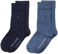 Blaue TOMMY HILFIGER Socken TH CHILDREN SOCK TH BASIC 2P - medium