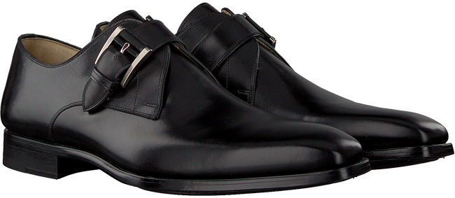 Schwarze MAGNANNI Business Schuhe 19531  - large