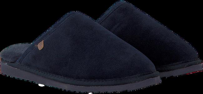Blaue WARMBAT Hausschuhe CLASSIC UNISEX SUEDE - large