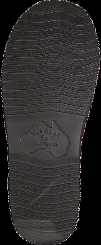 Braune WARMBAT Hausschuhe CLASSIC CHECK  - larger