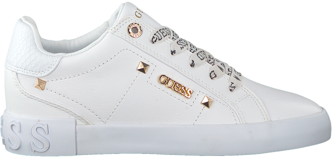 Weiße GUESS Sneaker low PUXLY