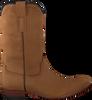 Cognacfarbene CLIC! Hohe Stiefel 7102 - small