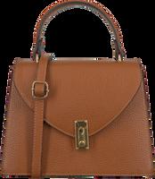 Cognacfarbene NOTRE-V Handtasche BEAU  - medium