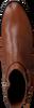 Cognacfarbene TOMMY HILFIGER Stiefeletten TH HARDWARE FLAT  - small