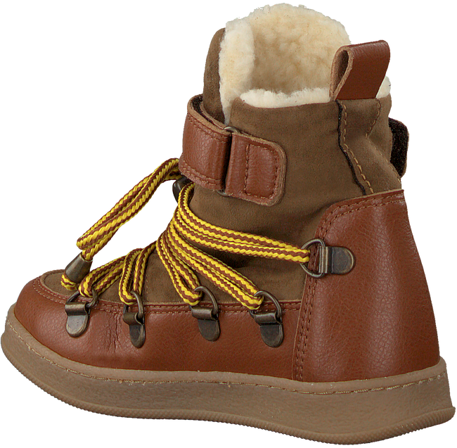 Braune BEAR & MEES Schnürboots B&M SNOWBOATS  - large