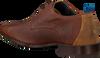 Cognacfarbene REHAB Business Schuhe GREG WALL 02 - small