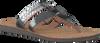 Silberne UGG Zehentrenner AUDRA - small