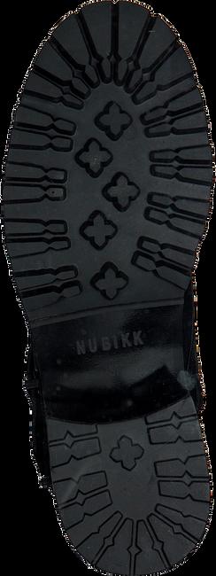 Schwarze NUBIKK Schnürboots DJUNA BUCKLE - large