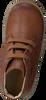 Cognacfarbene FALCOTTO Schnürschuhe CONTE  - small