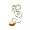 Goldfarbene NOTRE-V Kette KETTING MET OVAAL  - small