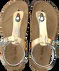 Goldfarbene KIPLING Sandalen MARIA 1 CRY  - small