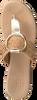 Goldfarbene OMODA Pantolette 17981  - small
