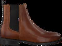Cognacfarbene TOMMY HILFIGER Chelsea Boots ESSENTIAL DRESSED  - medium