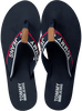 Blue TOMMY HILFIGER shoe TOMMY JEANS MID BEACH SANDAL  - small