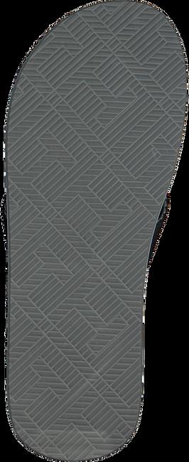 Schwarze TOMMY HILFIGER Pantolette MASSAGE FOOTBED TH BEACH  - large