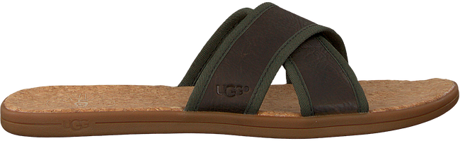 green UGG shoe SEASIDE SLIDE  - large
