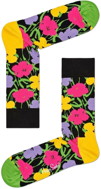 HAPPY SOCKS Socken ANDY WARHOL FLOWER - large