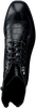 Schwarze VERTON Schnürboots 454/04  - small