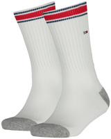 Weiße TOMMY HILFIGER Socken TH KIDS ICONIC SPORTS SOCK 2P - medium