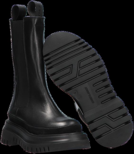 Schwarze JANET & JANET Chelsea Boots 01000  - large