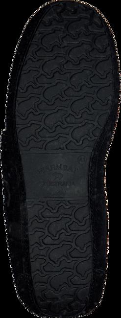 Schwarze WARMBAT Hausschuhe EARLWOOD  - large