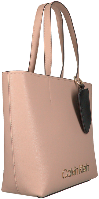Beige CALVIN KLEIN Shopper CK MUST MEDIUM SHOPPER  - large