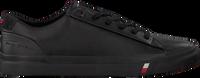 Schwarze TOMMY HILFIGER Sneaker low CORPORATE  - medium