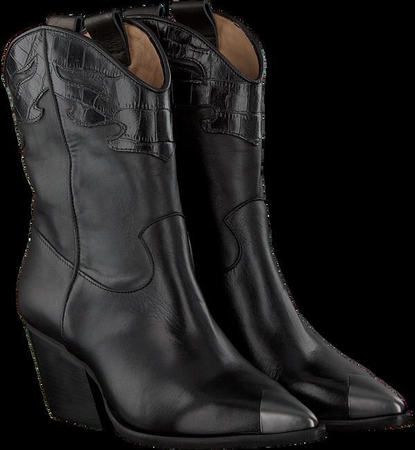 Schwarze NOTRE-V Stiefeletten A1360  - large