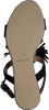 Schwarze OMODA Sandalen KV6375 - small