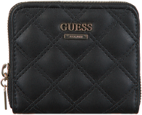 Schwarze GUESS Portemonnaie CESSILY SLG SMALL ZIP AROUND  - medium